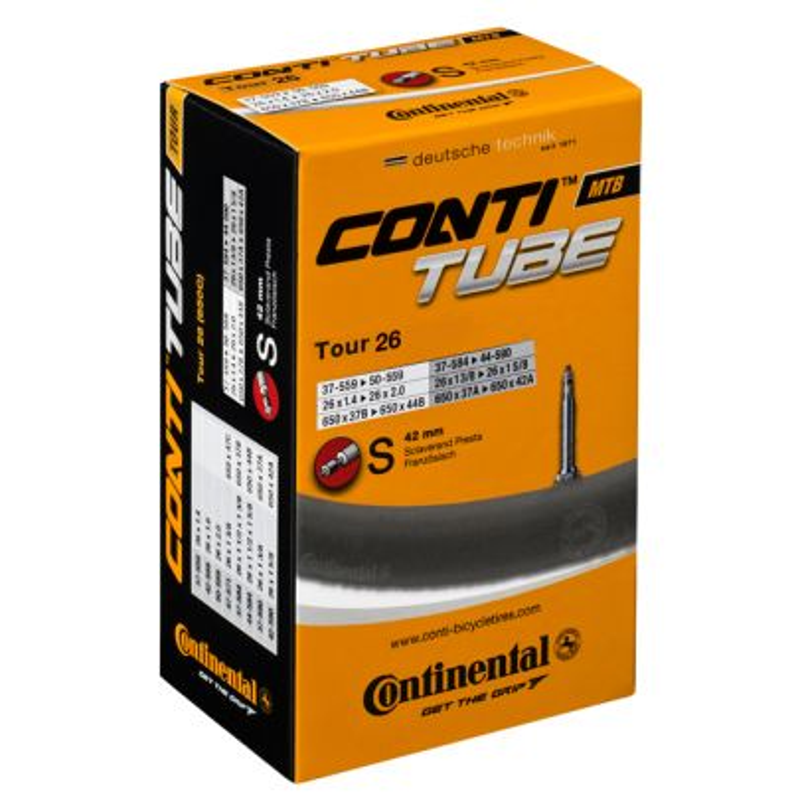 Continental Tour Presta Valve Slim Innertube